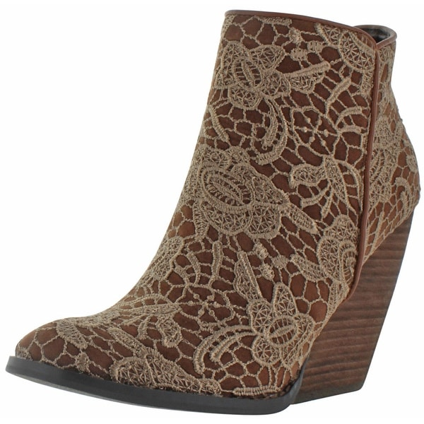 1812361eaf2b Shop Very Volatile Ophelia Women's Ankle Lace Booties - Free ...