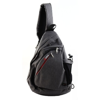 KAKA Authorized Cycling Crossbody Backpack Bag School Triangle Chest Pack Gray