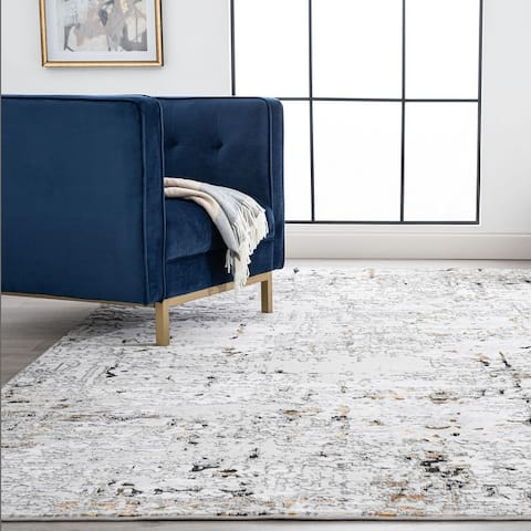 Alise Rugs Antiquity Contemporary Abstract Area Rug