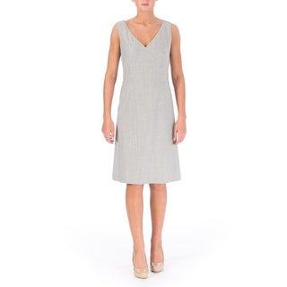 BOSS Hugo Boss Womens Desula Virgin Wool Heathered Wear to Work Dress - 2
