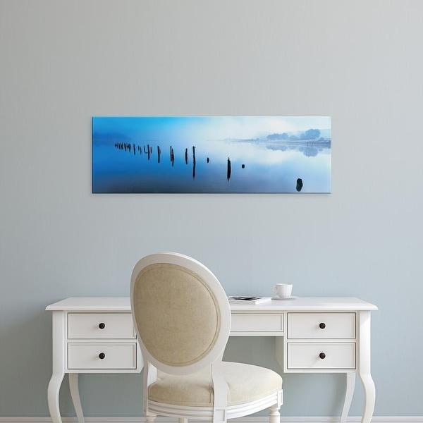 Easy Art Prints Panoramic Images's 'Loch Shiel, Scotland, United Kingdom' Premium Canvas Art