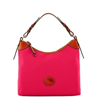 Dooney & Bourke Nylon Large Erica (Introduced by Dooney & Bourke at $149 in Dec 2013) - Hot Pink