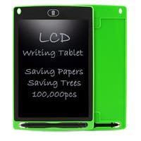 Kid's Mess Free Paperless Drawing Tablet - Easy To Use - ECO Friendly - Easy One Click Erase (Practice ABCs & Math Problems)