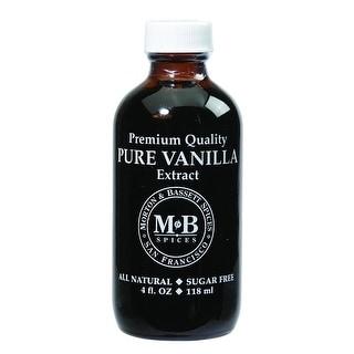 Morton & Bassett - Pure Vanilla Extract ( 3 - 4 FZ)