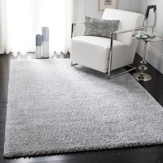 Link to SAFAVIEH August Shag Margeret Solid 1.25-inch Thick Rug Similar Items in Living Room Furniture