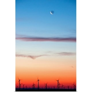 """Morning on the Wind Farm"" Poster Print"