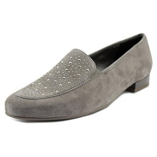 Ara Kendall Women Round Toe Suede Gray Flats