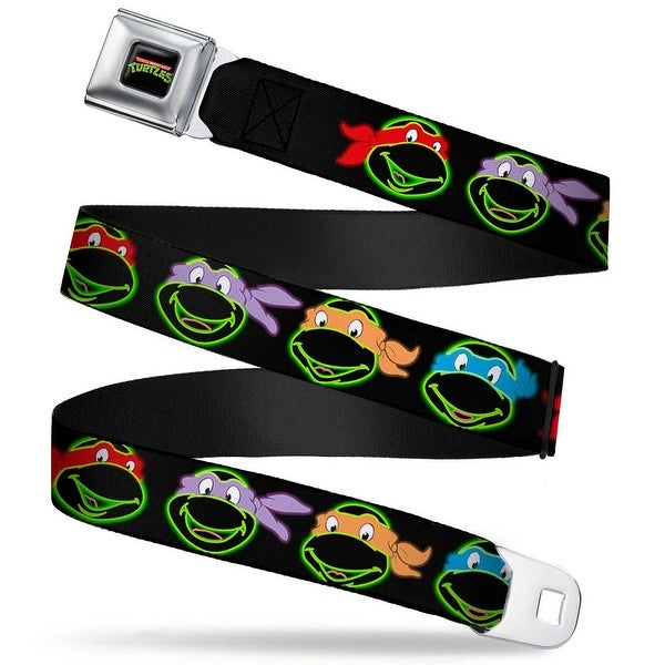 Classic Tmnt Logo Full Color Classic Teenage Mutant Ninja Turtles Electric Seatbelt Belt