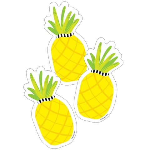 Simply Stylish Tropical Pineapple Cut-Outs - One Size