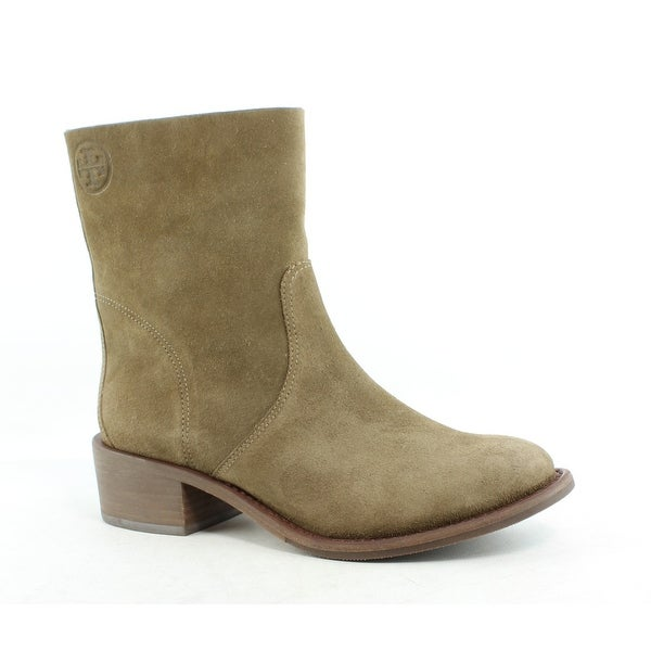 a0d2f4fca18b Shop Tory Burch Womens Siena Brown Ankle Boots Size 5 - Free ...