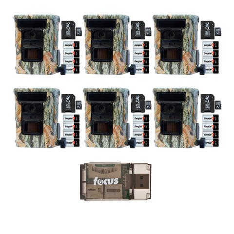 Browning Defender 940 Trail Camera (6-Pack) with Focus Card Reader
