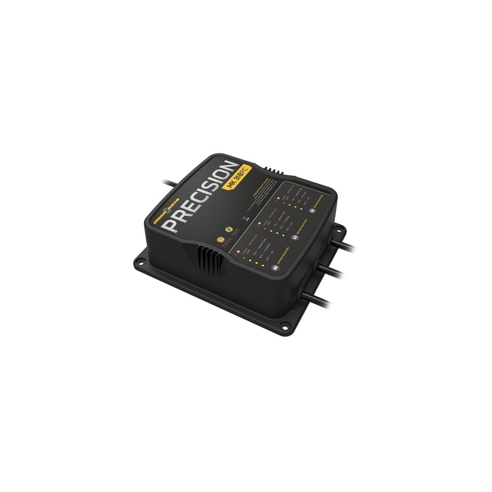 Minn Kota 1833180 MK318PC 3 Bank On-Board Battery Charger w// LED Indicators