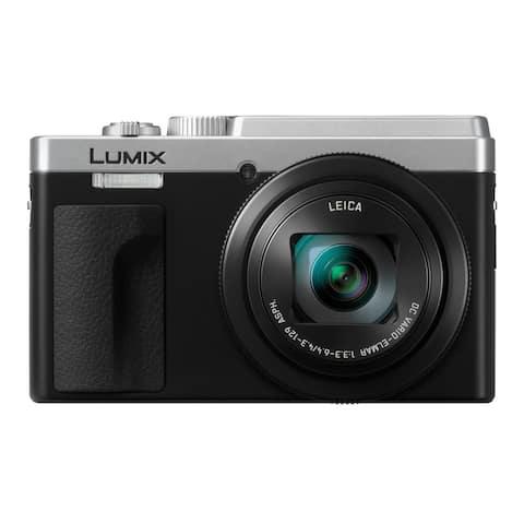 Panasonic LUMIX ZS80 24-720mm Travel Zoom Lens Digital Camera (Silver)