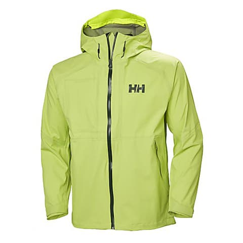 Helly Hansen Men's Vanir Baldur Outdoor Shell Waterproof Jacket, Sharp Green, Large