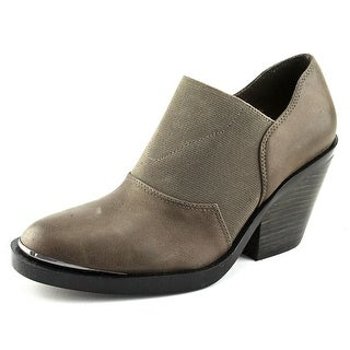 Naya Acre Women Round Toe Leather Gray Ankle Boot