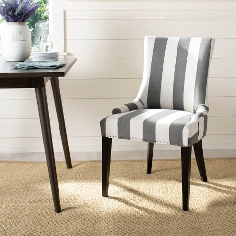 "Safavieh Dining Becca Grey Dining Chair - 22"" x 24.8"" x 36.4"""