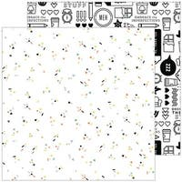"""Meh - A Case Of The Blahs Double-Sided Cardstock 12""""X12"""""""