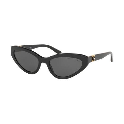Ralph Lauren RL8176 500187 55 Black Woman Cat Eye Sunglasses