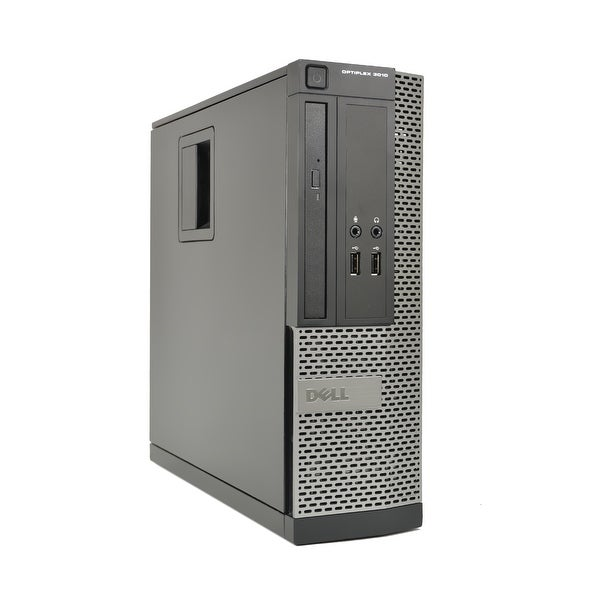Dell Optiplex 3010 Core i5-3470 3.2GHz 4GB RAM 500GB HDD DVD-RW Win 10 Pro SFF PC (Refurbished)
