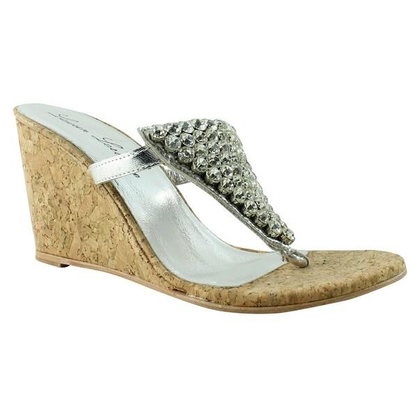 695c2756ec Shop Lauren Lorraine Womens Anguilla Silver Sandals Size 7.5 - On ...