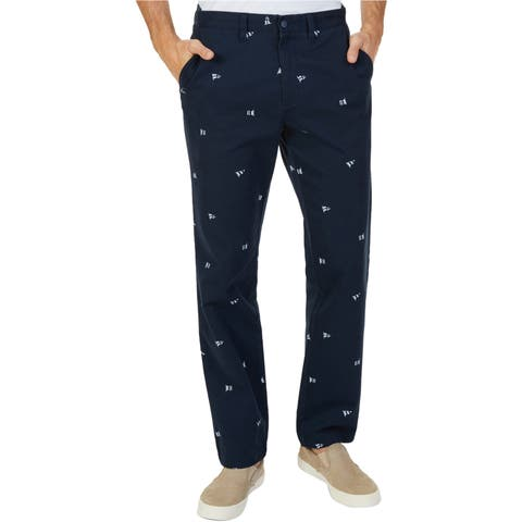 Nautica Mens Classic-Fit Casual Chino Pants
