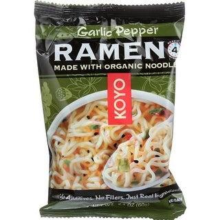 Koyo Foods - Garlic Pepper Dry Ramen ( 12 - 2.1 OZ)