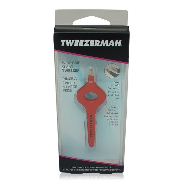 Tweezerman Wide Grip Tweezer Assorted - Black Red Violet Lilac