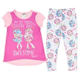 Shopkins Girls' Shoppies 2-Piece Pajama Set
