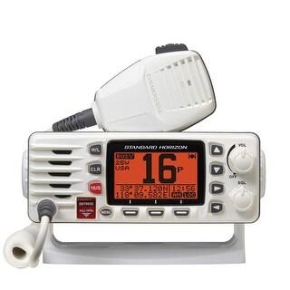 Standard Horizon Eclipse GX1300 White Fixed Mount VHF with Large Dot Matrix LCD