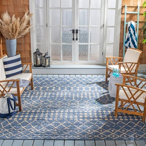 Safavieh Courtyard Jeljazka Indoor/ Outdoor Rug