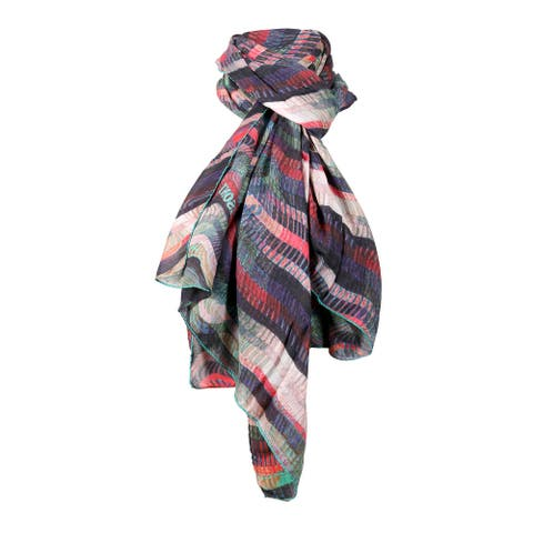 Missoni Blush/Coral Long Wave Signature Scarf - 28-79