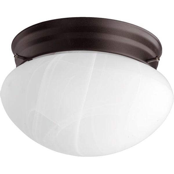 """Quorum International 3021-6 7"""" Width 1 Light Flush Mount Ceiling Fixture"""