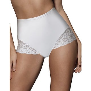 Bali Brief with Lace Firm Control 2-Pack - L