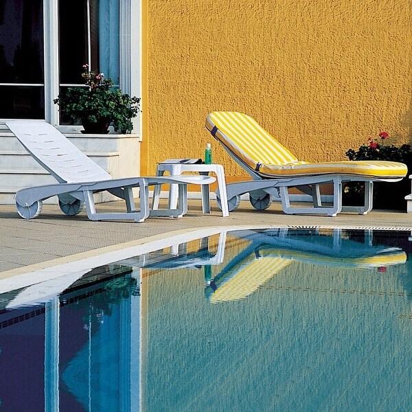 Sundance Pool Chaise Lounge - Set of 2 (White) - White