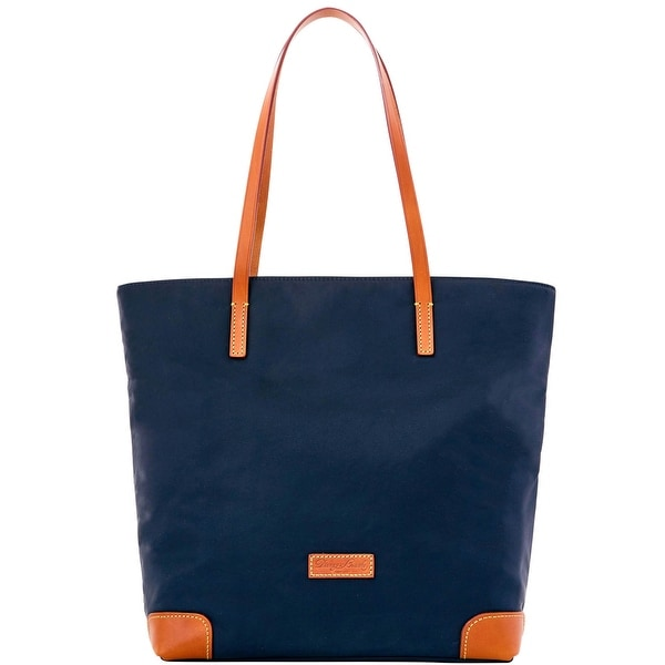 Dooney & Bourke Nylon Everyday Tote with Wristlet (Introduced by Dooney & Bourke at $198 in Feb 2016) - Navy