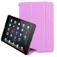 AGPtEK Ultra Slim Smart Cover Case Stand Case with Screen Protector for iPad Mini 1 2 3 (Auto Sleep / wake) - Pink