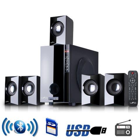 beFree Sound 5.1 CA Surround Sound Bluetooth Speaker System