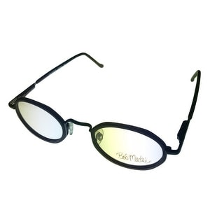 Bob Mackie Opthalmic Eyeglass Mens Oval Metal Black #852 #01 - Medium