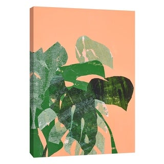 "PTM Images 9-108598  PTM Canvas Collection 10"" x 8"" - ""Breezing 2"" Giclee Leaves Art Print on Canvas"