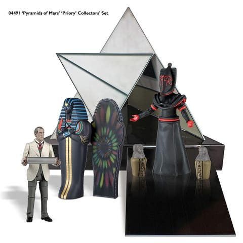 """Doctor Who """"Pyramids of Mars"""" 5"""" Action Figure Box Set - Multi"""