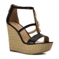 Michael Michael Kors Womens Suki Open Toe Casual Platform Sandals - 5.5