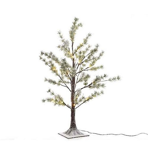 LED Frost Pine Twig Tree