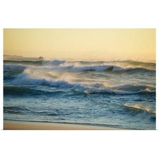 """""""Ocean waves"""" Poster Print"""