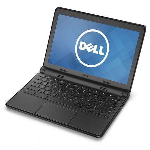 Dell Chromebook 11 P22T (4GB RAM, 16GB SSD) Laptop - Black - Acceptable