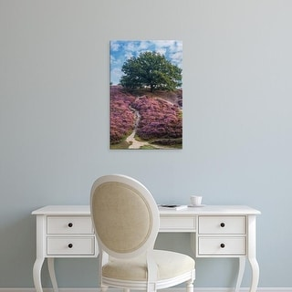 Easy Art Prints Lars Van de Goor's 'Purple Heath' Premium Canvas Art