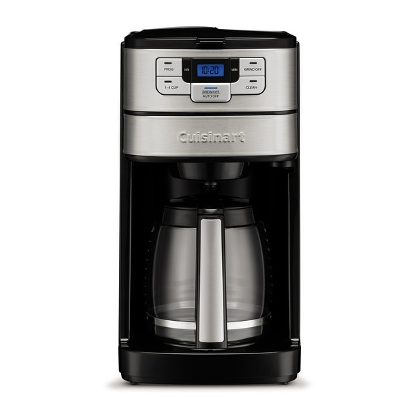 Cuisinart DGB-400 Automatic Grind and Brew 12-Cup Coffeemaker. Opens flyout.