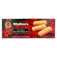 Walkers Shortbread - Pure Butter, Fingers - Case of 12 - 5.3 oz.