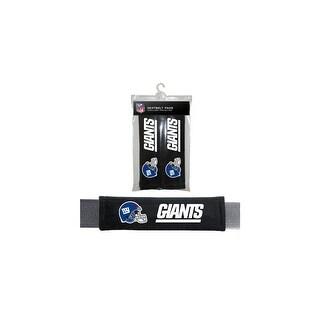 FREMONT DIE Inc New York Giants Seat Belt Pad 2 Pack Seat Belt Pad 2 Pack