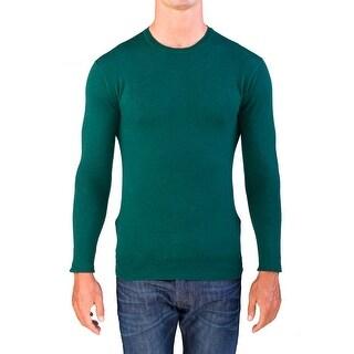 Valentino Men's Crew Neck Sweater Green