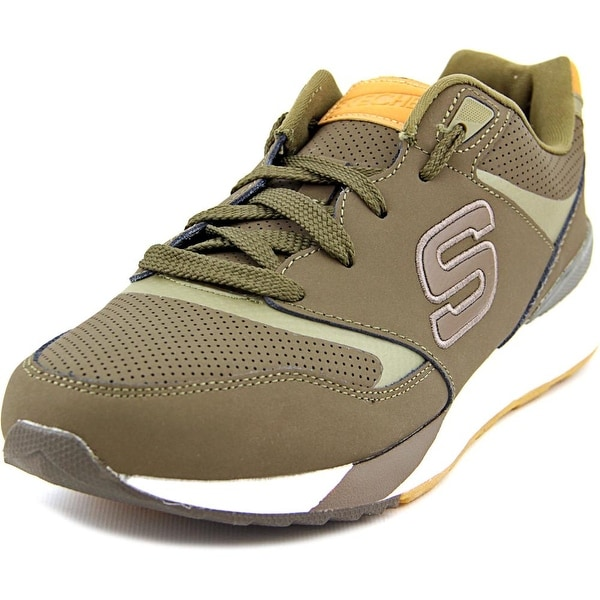 Skechers OG 90 Cropsey Men Round Toe Leather Green Sneakers